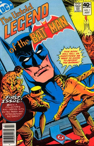 Cover for The Untold Legend of the Batman (DC, 1980 series) #1