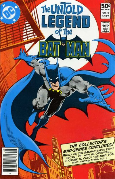 Cover for The Untold Legend of the Batman (DC, 1980 series) #3