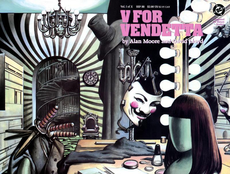 Cover for V for Vendetta (DC, 1988 series) #1