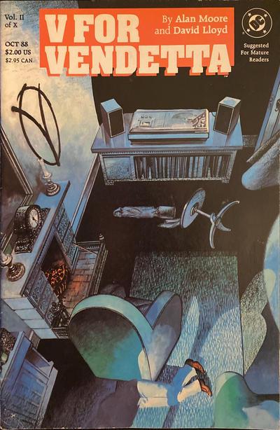 Cover for V for Vendetta (DC, 1988 series) #2