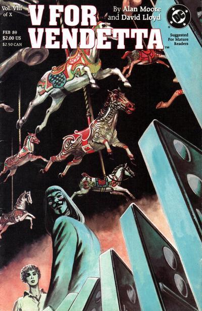 Cover for V for Vendetta (DC, 1988 series) #8