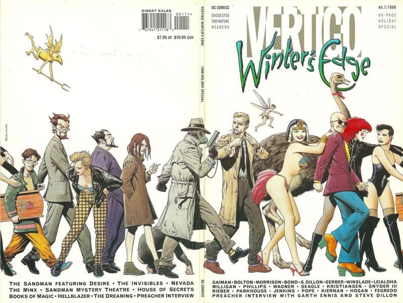 Cover for Vertigo: Winter's Edge (DC, 1998 series) #1