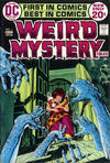 Cover for Weird Mystery Tales (DC, 1972 series) #1