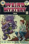 Cover for Weird Mystery Tales (DC, 1972 series) #9