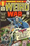 Cover for Weird War Tales (DC, 1971 series) #1