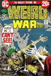 Cover for Weird War Tales (DC, 1971 series) #7