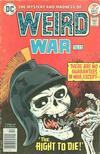 Cover for Weird War Tales (DC, 1971 series) #49