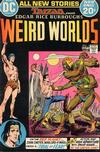 Cover for Weird Worlds (DC, 1972 series) #1