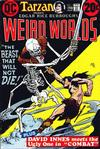Cover for Weird Worlds (DC, 1972 series) #5