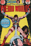 Cover for Weird Worlds (DC, 1972 series) #7