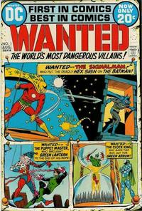 Cover Thumbnail for Wanted. The World's Most Dangerous Villains (DC, 1972 series) #1