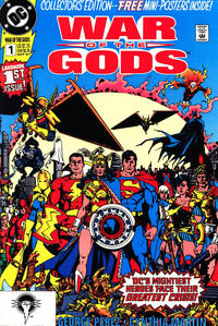 Cover Thumbnail for War of the Gods (DC, 1991 series) #1 [Collector's Edition] [Direct]