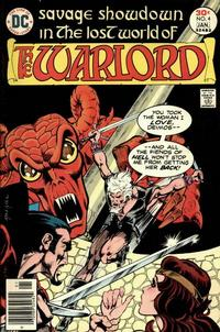 Cover Thumbnail for Warlord (DC, 1976 series) #4