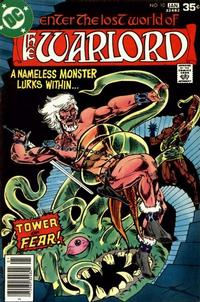 Cover for Warlord (DC, 1976 series) #10