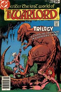 Cover for Warlord (DC, 1976 series) #12