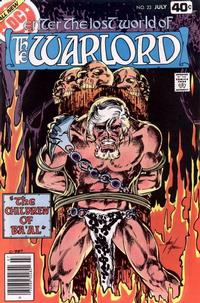 Cover Thumbnail for Warlord (DC, 1976 series) #23