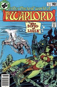 Cover for Warlord (DC, 1976 series) #24
