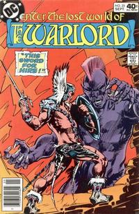 Cover Thumbnail for Warlord (DC, 1976 series) #25
