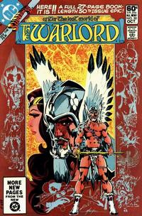 Cover Thumbnail for Warlord (DC, 1976 series) #50 [Direct Sales]