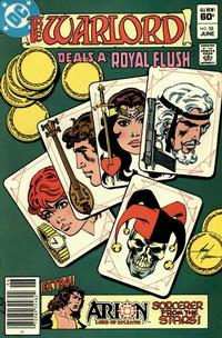 Cover for Warlord (DC, 1976 series) #58 [Direct Edition]