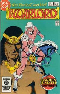 Cover for Warlord (DC, 1976 series) #72 [Direct-Sales]