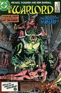 Cover Thumbnail for Warlord (DC, 1976 series) #107 [Direct Sales]