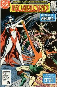 Cover Thumbnail for Warlord (DC, 1976 series) #109 [Direct Sales]