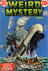 Cover Thumbnail for Weird Mystery Tales (DC, 1972 series) #2