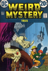 Cover Thumbnail for Weird Mystery Tales (DC, 1972 series) #5