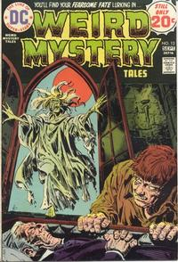 Cover Thumbnail for Weird Mystery Tales (DC, 1972 series) #13