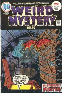 Cover Thumbnail for Weird Mystery Tales (DC, 1972 series) #20