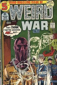 Cover Thumbnail for Weird War Tales (DC, 1971 series) #5