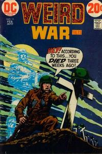 Cover Thumbnail for Weird War Tales (DC, 1971 series) #11