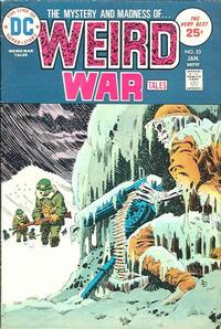 Cover for Weird War Tales (DC, 1971 series) #33