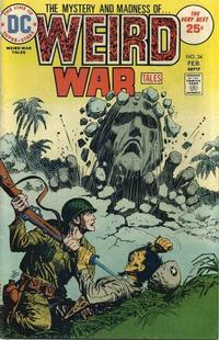 Cover Thumbnail for Weird War Tales (DC, 1971 series) #34