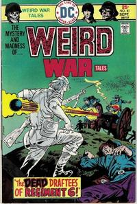 Cover Thumbnail for Weird War Tales (DC, 1971 series) #41