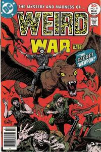 Cover for Weird War Tales (DC, 1971 series) #51