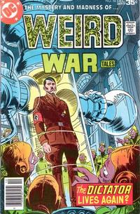 Cover for Weird War Tales (DC, 1971 series) #58