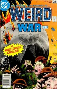 Cover for Weird War Tales (DC, 1971 series) #60