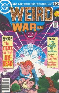 Cover Thumbnail for Weird War Tales (DC, 1971 series) #67