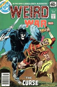 Cover for Weird War Tales (DC, 1971 series) #73