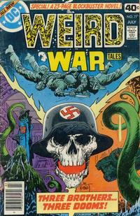 Cover Thumbnail for Weird War Tales (DC, 1971 series) #77