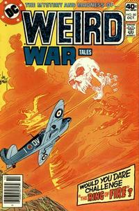 Cover Thumbnail for Weird War Tales (DC, 1971 series) #80
