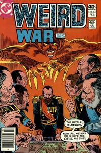 Cover for Weird War Tales (DC, 1971 series) #84