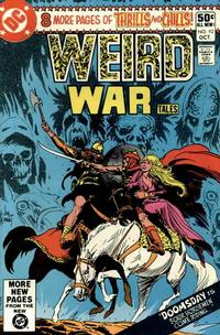 Cover for Weird War Tales (DC, 1971 series) #92