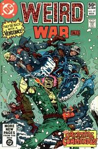 Cover for Weird War Tales (DC, 1971 series) #97 [Direct Sales]
