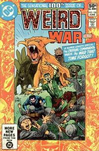 Cover for Weird War Tales (DC, 1971 series) #100 [Direct-Sales]