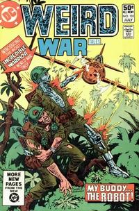 Cover for Weird War Tales (DC, 1971 series) #101 [Direct Sales]
