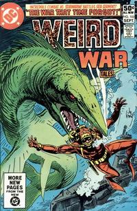 Cover Thumbnail for Weird War Tales (DC, 1971 series) #103