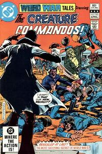 Cover Thumbnail for Weird War Tales (DC, 1971 series) #110 [Direct Sales]